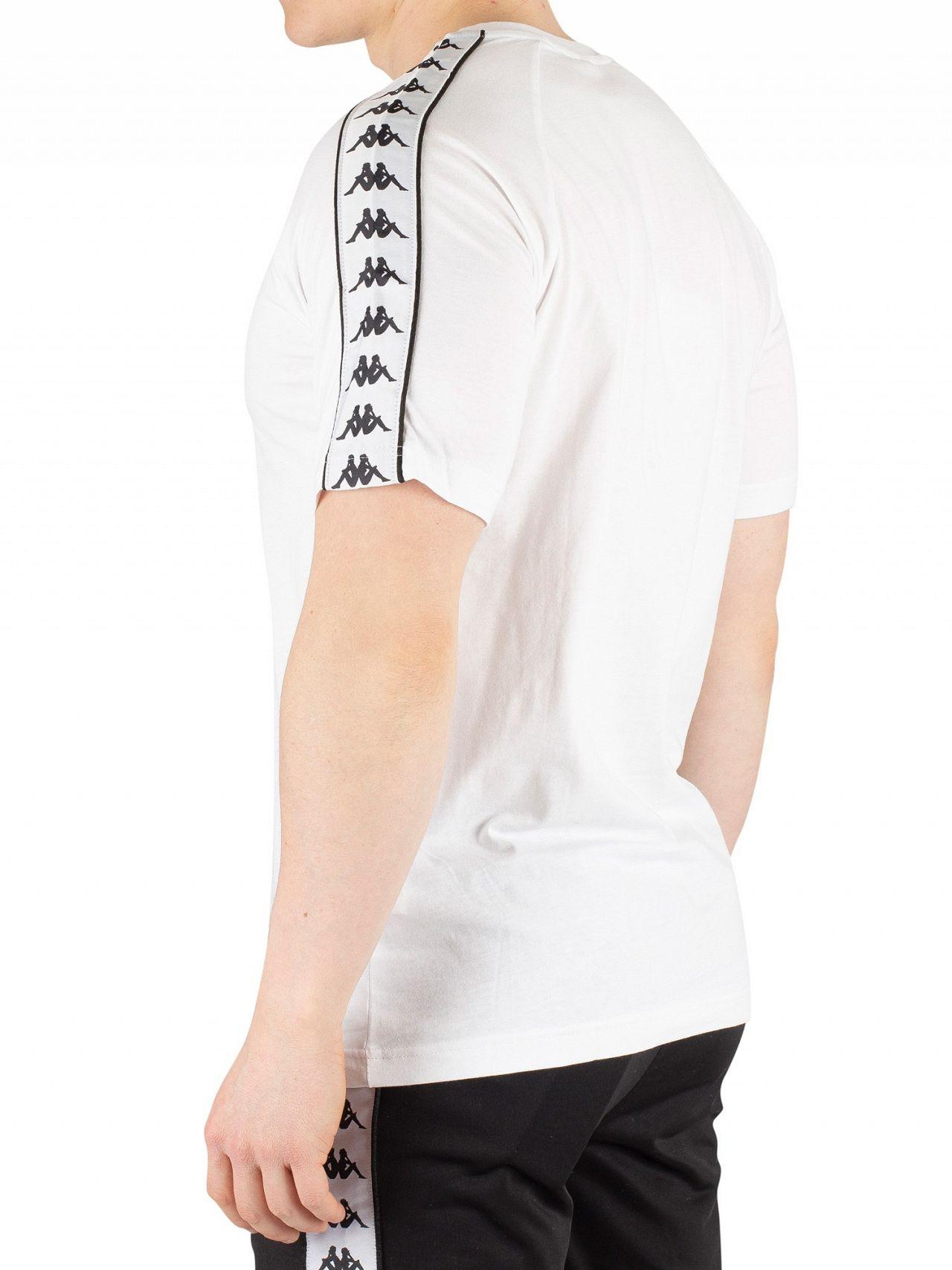 204a43b072 Kappa White/Black 222 Banda Coen T-Shirt