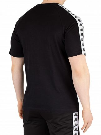 Kappa Black/White 222 Banda Coen T-Shirt