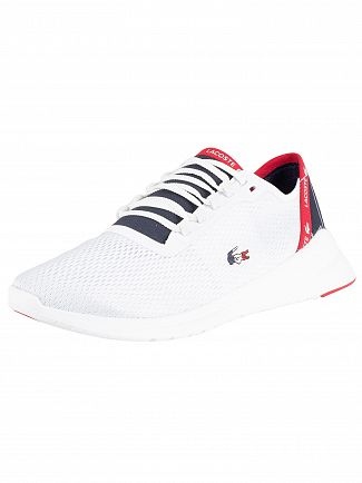 Lacoste White/Navy/Red LT Fit 119 5 SMA Trainers