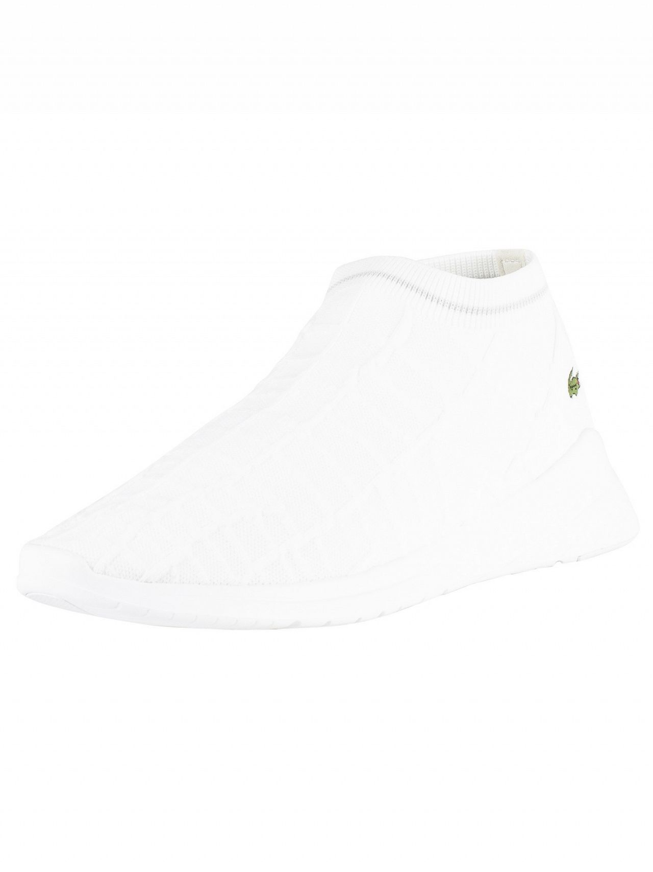 6a176d4f22a Lacoste White/Off White LT Fit Sock 119 2 SMA Trainers | Standout