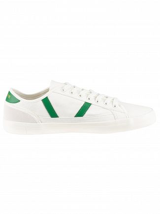 Lacoste White/Green Sideline 119 4 CMA Trainers