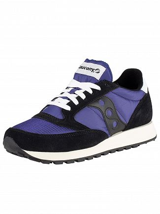Saucony Black/Navy Jazz Original Vintage Trainers
