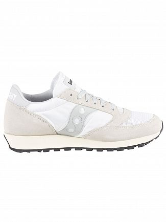Saucony White Jazz Original Vintage Trainers