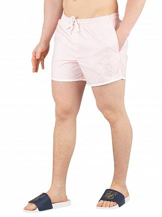 Sik Silk Peachy Pink Standard Bound Swim Shorts