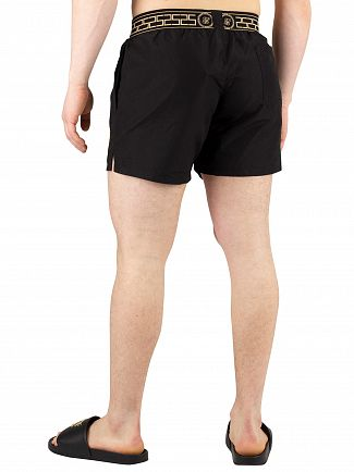 Sik Silk Black Standard Swim Shorts