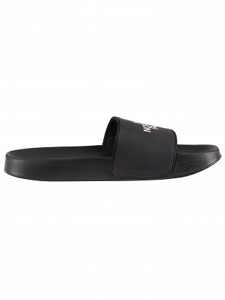 The North Face Black/White Base Camp Sliders
