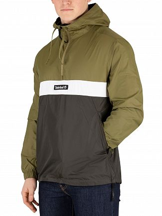 Timberland Martini Green YCC Funnel Neck 1/4 Zip Jacket