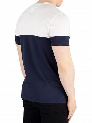 Tommy Hilfiger Sky Captain Colour Block T-Shirt