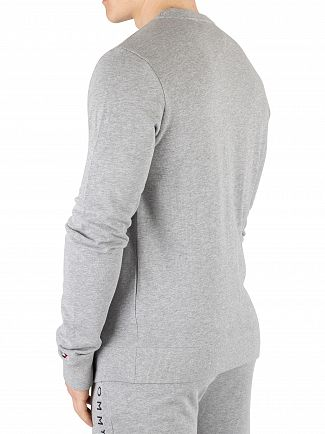 Tommy Hilfiger Grey Heather Graphic Sweatshirt