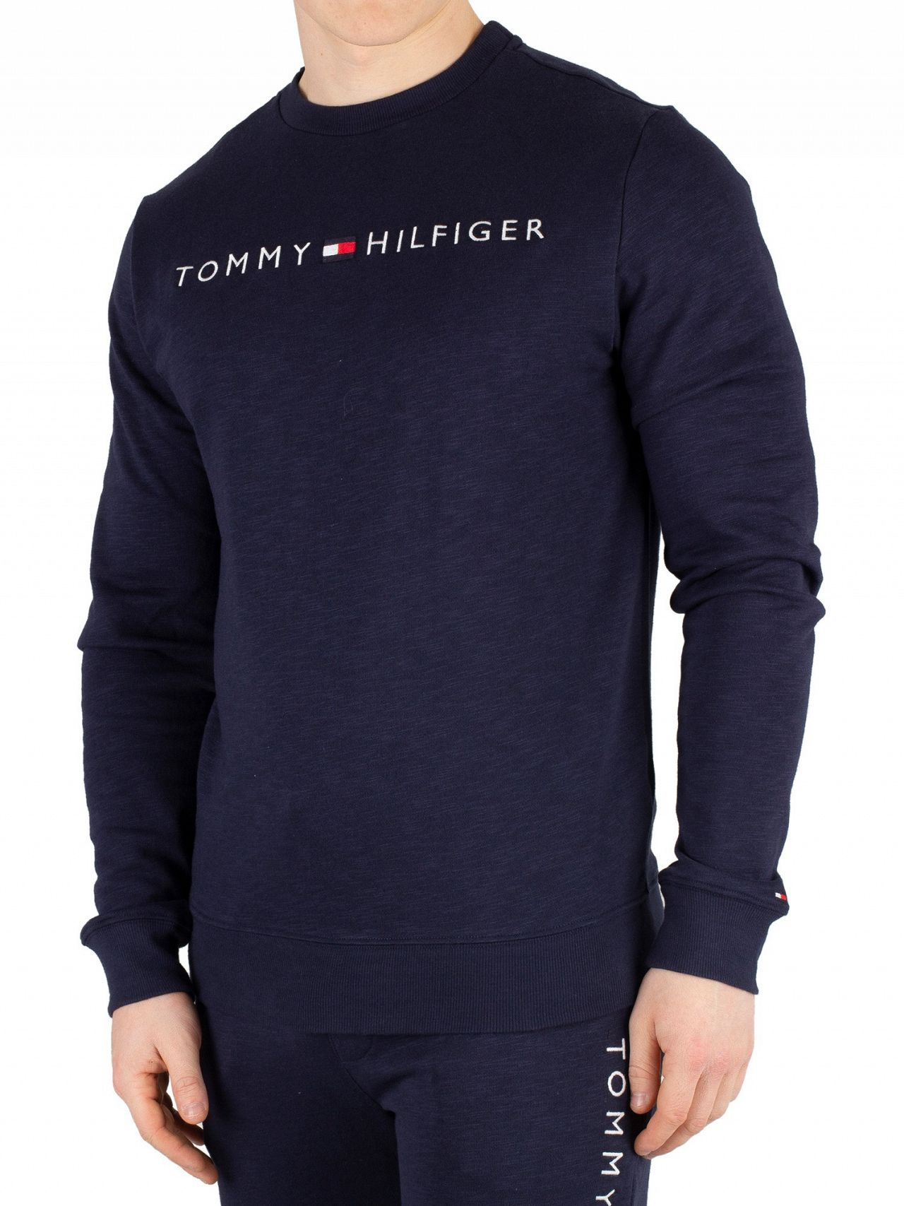 6d3596f6 Tommy Hilfiger Navy Blazer Graphic Sweatshirt. Tap to expand
