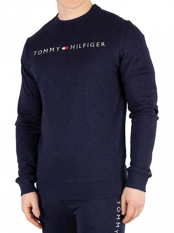 Tommy Hilfiger Navy Blazer Graphic Sweatshirt