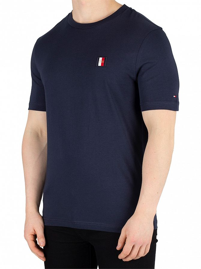 Tommy Hilfiger Sky Captain Icon Woven Label T-Shirt