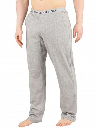 Tommy Hilfiger Grey Heather Logo Pyjama Bottoms