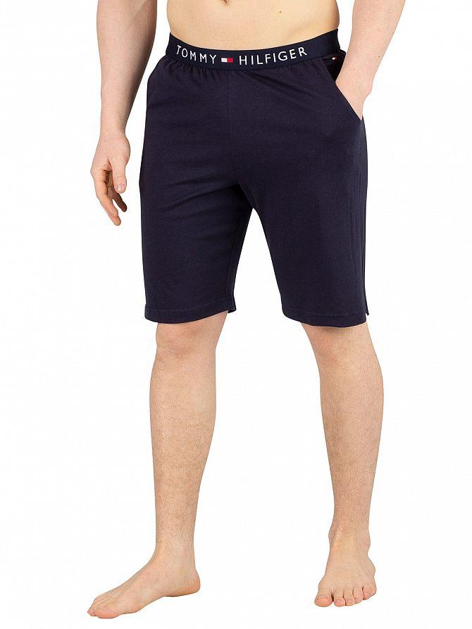 Tommy Hilfiger Navy Blazer Logo Pyjama Shorts