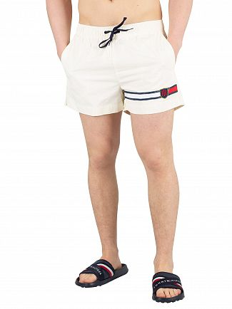 Tommy Hilfiger Vanilla Ice Medium Drawstring Swimshorts
