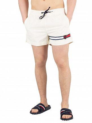 Tommy Hilfiger Vanilla Ice Medium Drawstring Swimshorts