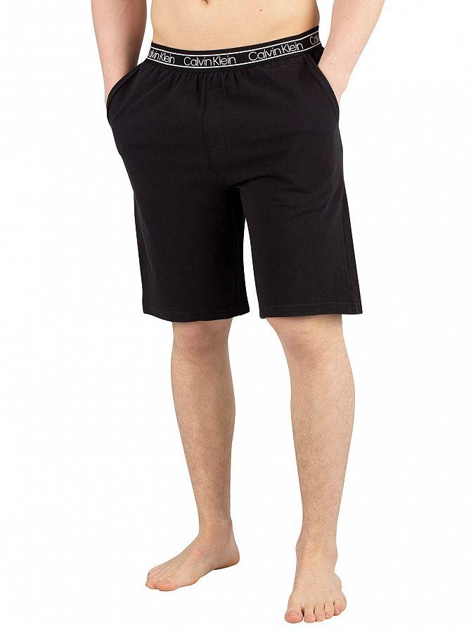 Calvin Klein Black Pyjama Shorts