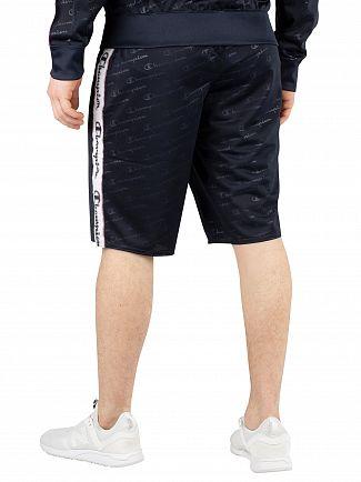 Champion Navy Bermuda All Over Print Shorts