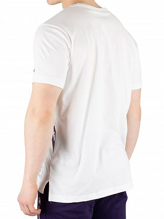 Champion White Crew T-Shirt