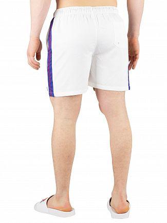 Ellesse White Apiro Swimshorts