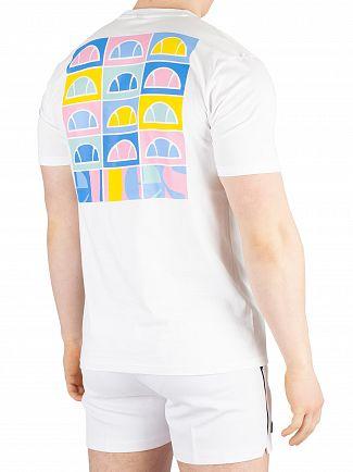 Ellesse White Fondato T-Shirt