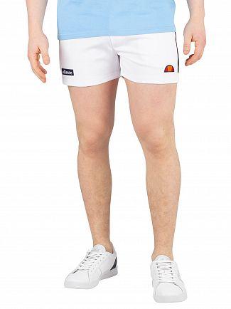 Ellesse White Tortoreto Shorts