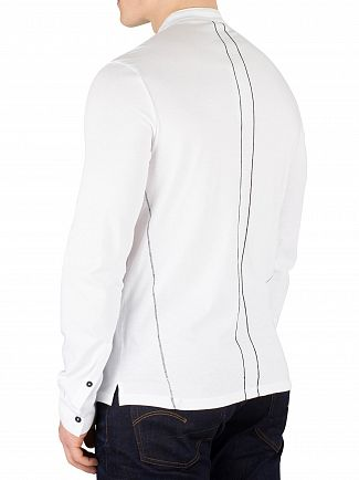 Religion White Ormont Grandad Collar Shirt