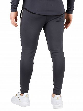 Sik Silk Anthracite Athlete Tech Tape Joggers