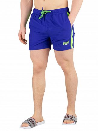 Superdry Racer Cobalt Beach Volley Swimshorts