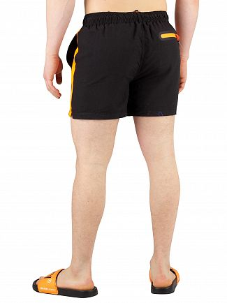 Superdry Black Beach Volley Swimshorts