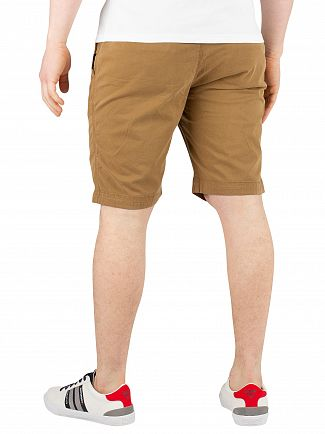 Superdry Bronze Khaki International Slim Chino Shorts
