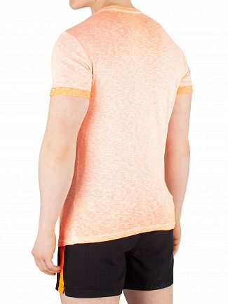 Superdry Hyper Pop Orange Low Roller T-Shirt