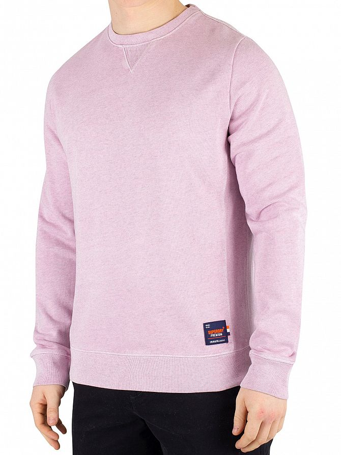 Superdry Powder Pink Originals Sweatshirt