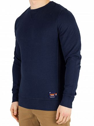 Superdry Beach Navy Originals Sweatshirt