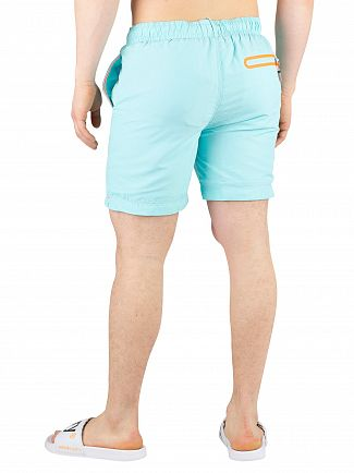 Superdry Light Lagoon Blue Water Polo Swimshorts