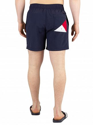 Tommy Hilfiger Navy Blazer Medium Drawstring Swimshorts