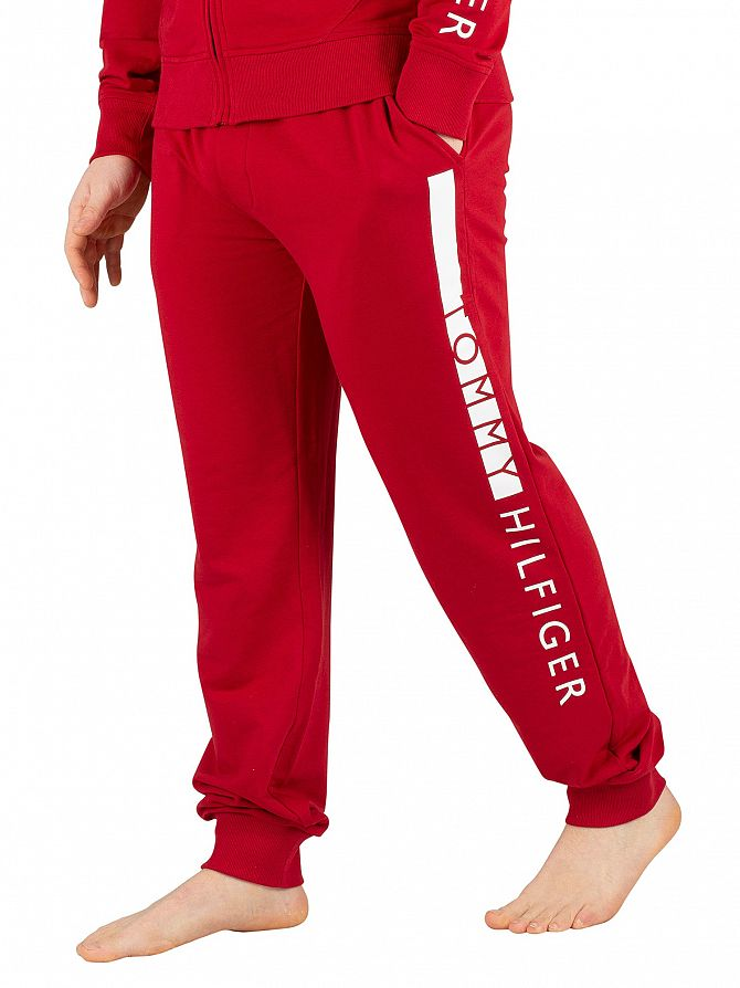 Tommy Hilfiger Red Dahlia Track Joggers