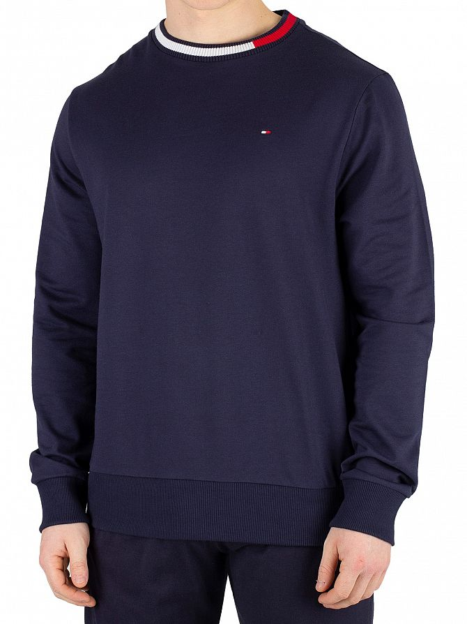 c8d9ea29 Tommy Hilfiger Men's Track Sweatshirt, Blue | eBay