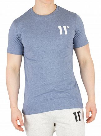 11 Degrees Sleet Marl Core T-Shirt