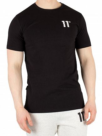 11 Degrees Black Meteor Graphic T-Shirt