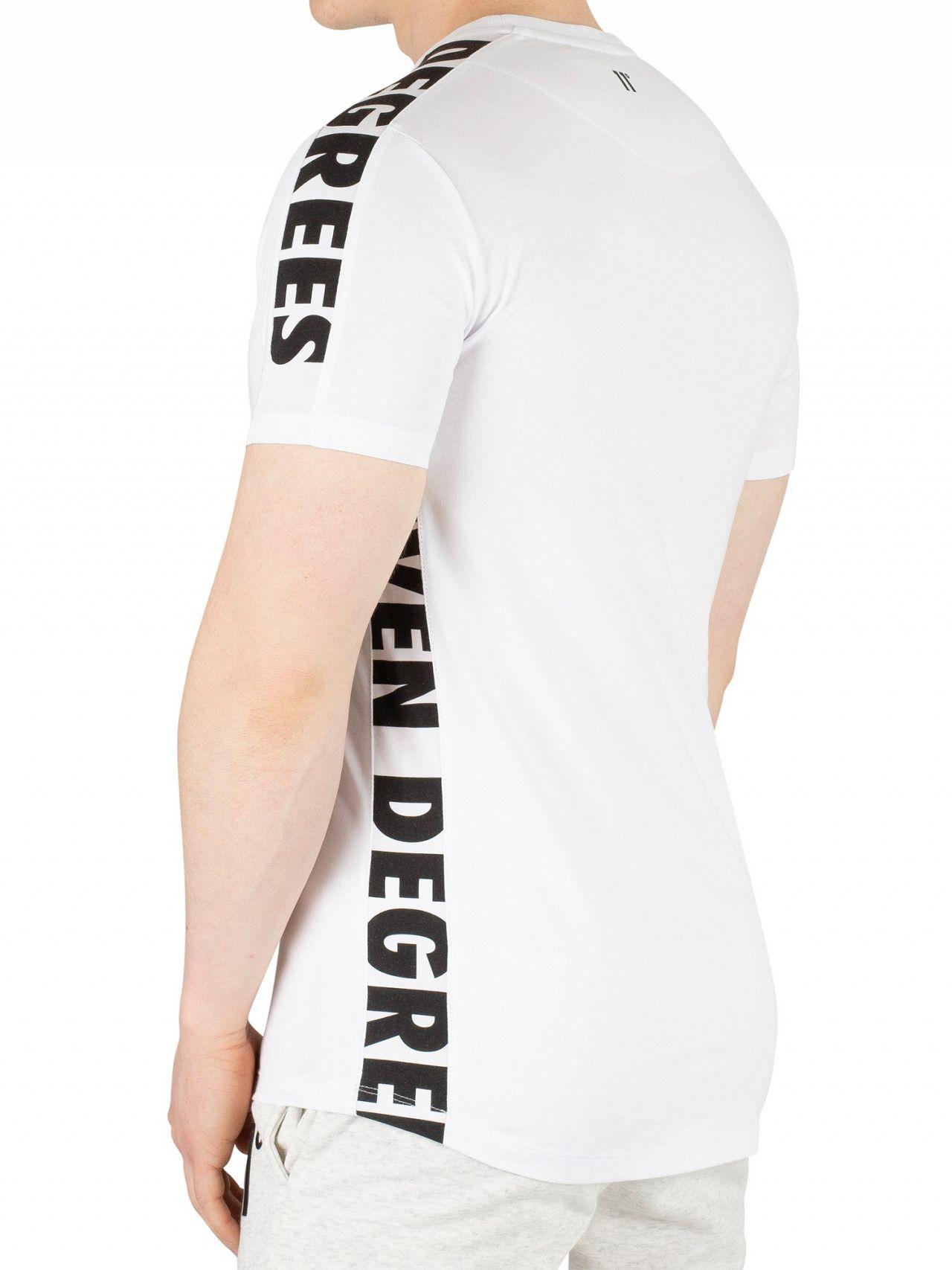 faad484b34 11 Degrees White Triad T-Shirt   Standout