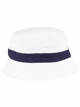 Fila White/Peacoat Basil Bucket Hat