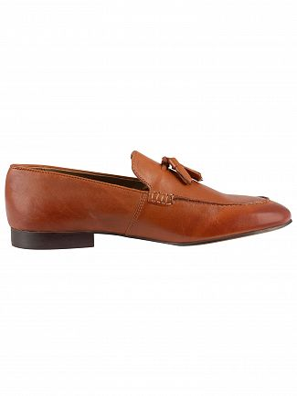 H by Hudson Tan Bolton Leather Shoes