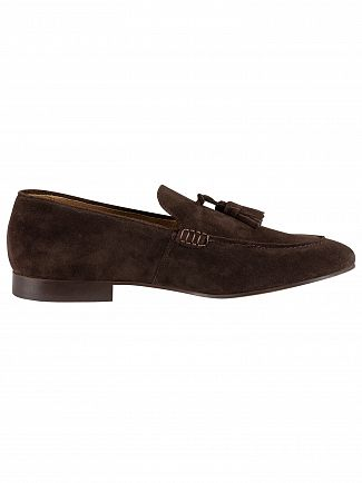 H by Hudson Brown Bolton Suede Shoes