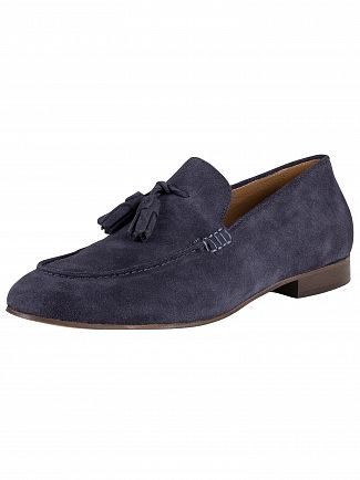 H by Hudson Navy Bolton Suede Shoes