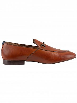 H by Hudson Tan Carmarthen Calf Leather Shoes