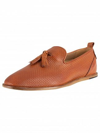 H by Hudson Tan Comber Leather Shoes