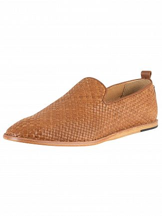 H by Hudson Tan Ipanema Leather Shoes