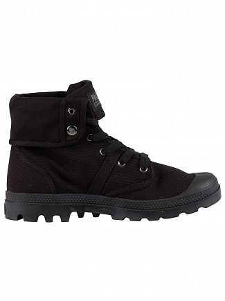 Palladium Black/Black Pallabrouse Baggy Boots