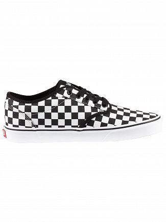 Vans Black/White Atwood Checkerboard Trainers